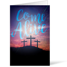 Come Alive Easter Journey Bulletin