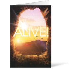 Alive Sunrise Tomb Bulletin