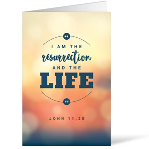 Resurrection and the Life Bulletins 8.5 x 11