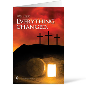 UMC Easter Everything Changed Bulletins