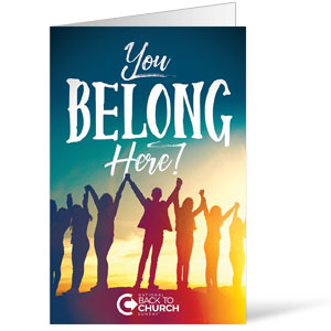 BTCS You Belong Here Bulletins