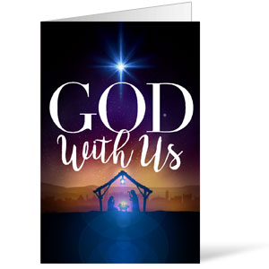 God With Us Advent Bulletins 8.5 x 11