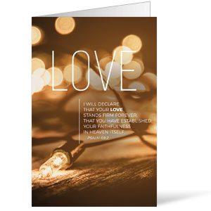 Lights of Advent Love Bulletins 8.5 x 11