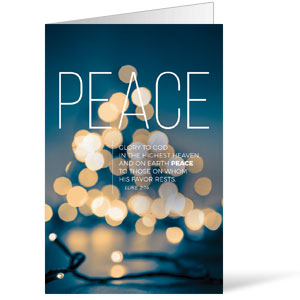 Lights of Advent Peace Bulletins 8.5 x 11