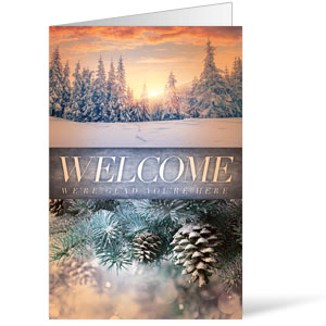 Beautiful Creation Winter Bulletins 8.5 x 11