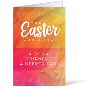 The Easter Challenge Bulletins 8.5 x 11