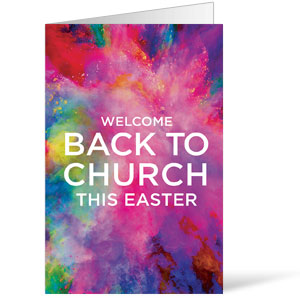 Back to Church Easter Bulletins 8.5 x 11
