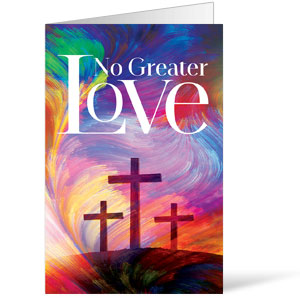 No Greater Love Bulletins 8.5 x 11