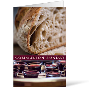 Communion Sunday Bulletins 8.5 x 11