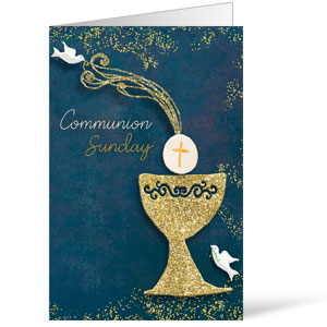 Craft Communion Bulletins 8.5 x 11