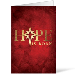 Hope Is Born Star Bulletins 8.5 x 11