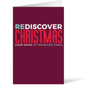 ReDiscover Christmas Advent Contemporary Bulletins 8.5 x 11