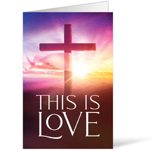 Love Easter Colors Bulletins 8.5 x 11