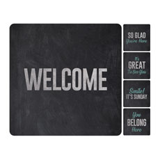 Slate Greeter Set