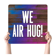 Colorful Wood Air Hug