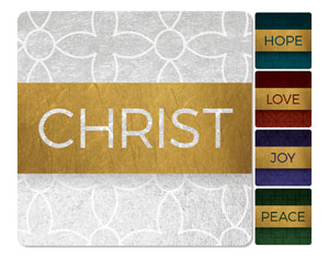 Celebrate The Season Advent Set Handheld sign