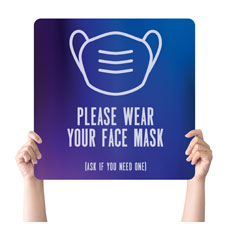 Aurora Lights Face Mask