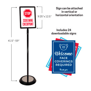 InfoSign Stand Displays & Stands