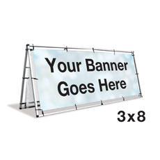 A-Frame Banner Stand Displays & Stands