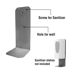 Drip Tray for Touchless Wall Mount Dispenser Signs and Stands
