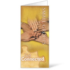 Get Connected Small Groups Brochure