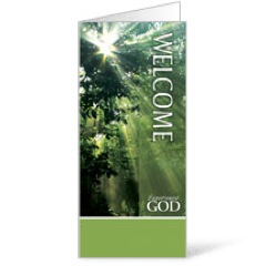Nature Welcome Brochures