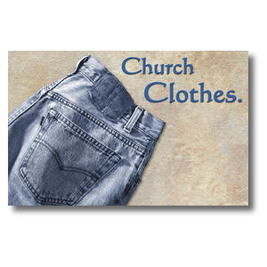 Church Clothes Postcards