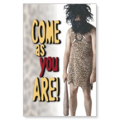 Come as You Are Postcard