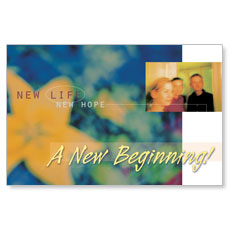 New Beginning Postcard