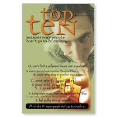 Top Ten Postcard
