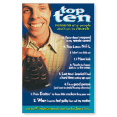 Top Ten 2 Postcard