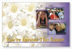 Easter Invited Postcard