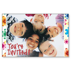 Kid's Invited Postcard