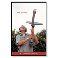 Talk with God Postcard