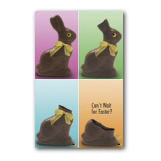 Chocolate Postcard