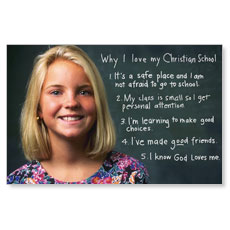 Christian School Postcards