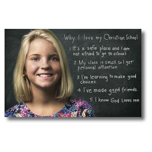 Chalkboard Girl Postcards