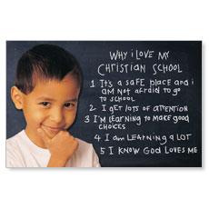 Chalkboard Boy Postcard