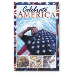 Celebrate America Postcard
