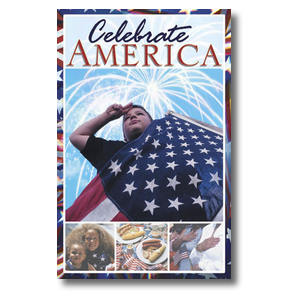 Celebrate America Church Postcards