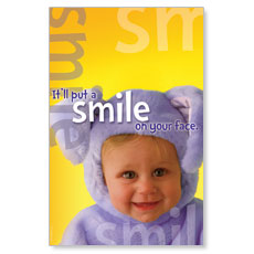 Easter Smile Postcard