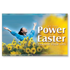 Power Of Easter Postcard