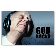 God Rocks Postcard
