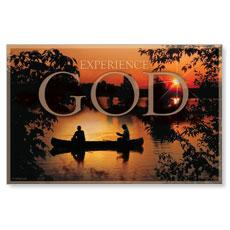 Experience God Postcard