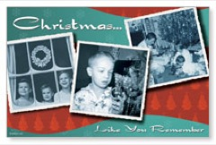 Christmas Nostalgia Postcard