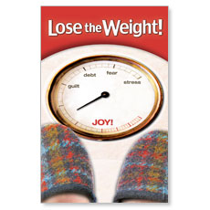 Lose the Weight Postcard