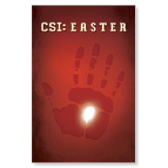 CSI: Easter Postcard
