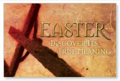 Easter Meaning Postcard
