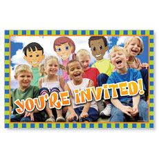 Children's Invited Postcard