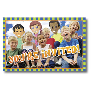 Children's Invited Postcards
